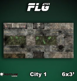 Frontline Gaming FLG Mats: City 1 6x3'