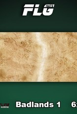 Frontline-Gaming FLG Mats: Badlands 1 6x3'