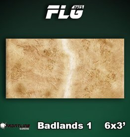 Frontline Gaming FLG Mats: Badlands 1 6x3'