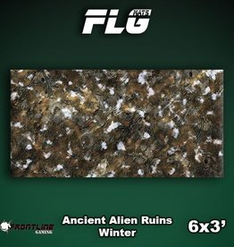 Frontline Gaming FLG Mats: Ancient Alien Ruins Winter 6x3'