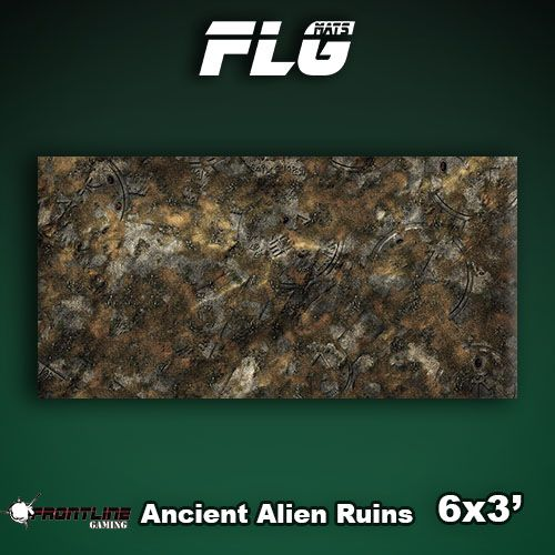 Frontline Gaming FLG Mats: Ancient Alien Ruins 6x3'