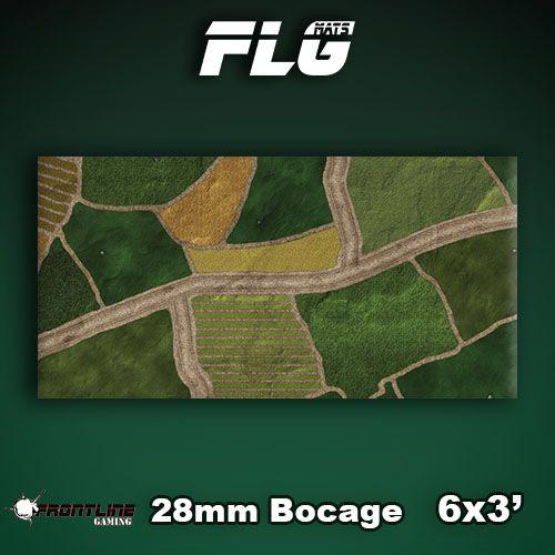 Frontline Gaming FLG Mats: 28mm Bocage 6x3'