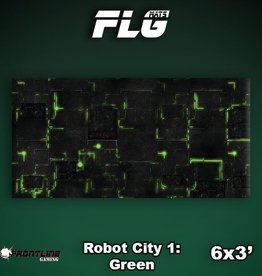 Frontline Gaming FLG Mats: Robot City 6x3'