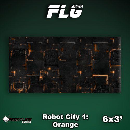 Frontline Gaming FLG Mats: Robot City 6x3'