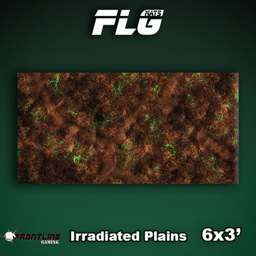 Frontline-Gaming FLG Mats: Irradiated Plains 6x3'
