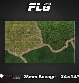 """Frontline-Gaming FLG Mats: Bocage 28mm 24"""" x 14"""""""
