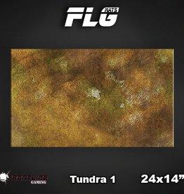 "Frontline-Gaming FLG Mats: Tundra 24"" x 14"""