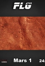 "Frontline-Gaming FLG Mats: Mars 24"" x 14"""