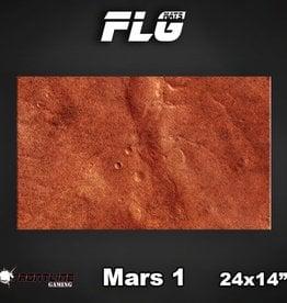 "Frontline Gaming FLG Mats: Mars 24"" x 14"""