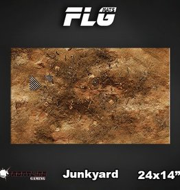 "Frontline Gaming FLG Mats: Junkyard 24"" x 14"""