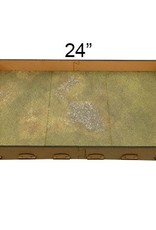 "Frontline Gaming FLG Mats: Irradiated Plains 24"" x 14"""