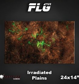 "Frontline-Gaming FLG Mats: Irradiated Plains 24"" x 14"""