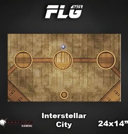 "Frontline-Gaming FLG Mats: Interstellar 24"" x 14"""