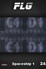 "Frontline-Gaming FLG Mats: Spaceship 24"" x 14"""