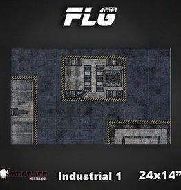 "Frontline Gaming FLG Mats: Industrial 24"" x 14"""