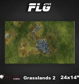"""Frontline-Gaming FLG Mats: Grasslands 2 24"""" x 14"""""""