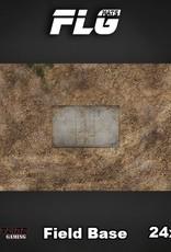 "Frontline-Gaming FLG Mats: Field Base 24"" x 14"""
