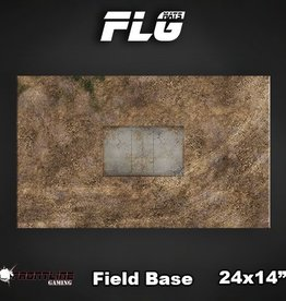"Frontline Gaming FLG Mats: Field Base 24"" x 14"""
