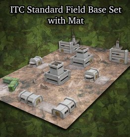 Frontline-Gaming ITC Terrain Series: ITC Standard Field Base Set With Mat
