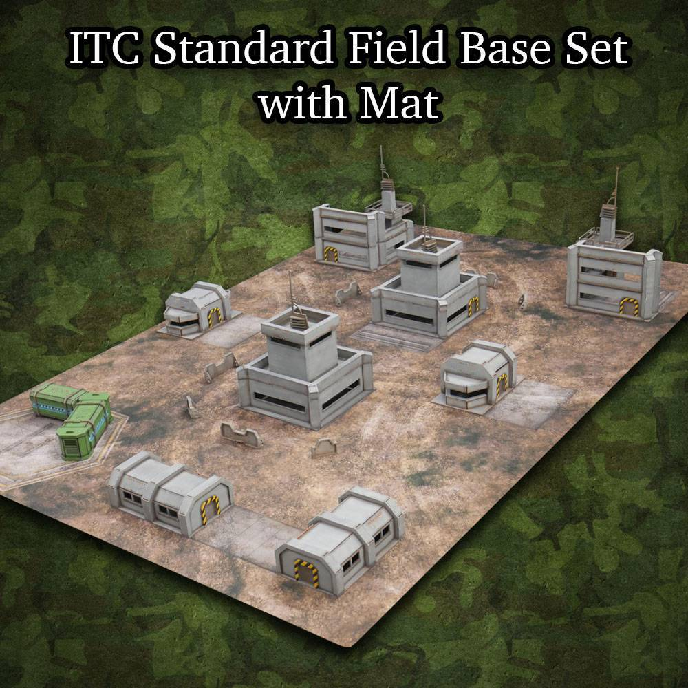 ITC Terrain Series: ITC Standard Field Base Set With Mat