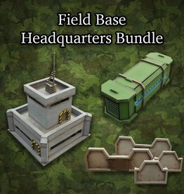 Frontline-Gaming ITC Terrain Series: Field Base Headquarters Bundle