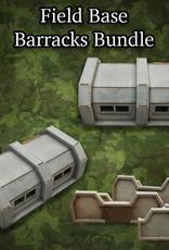 Frontline-Gaming ITC Terrain Series: Field Base Barracks Bundle