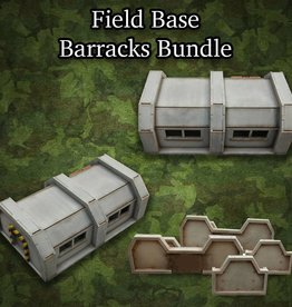 Frontline-Gaming ITC Terrain Series: Field Base Barracks Bundle