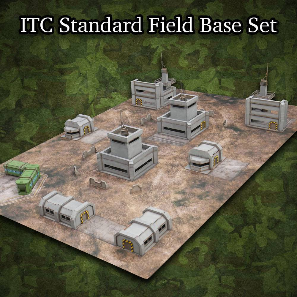 Frontline-Gaming ITC Terrain Series: ITC Standard Field Base Set