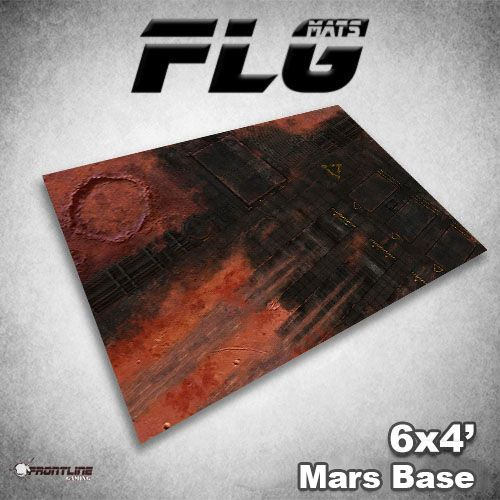 Frontline Gaming FLG Mats: Mars Base 6x4'