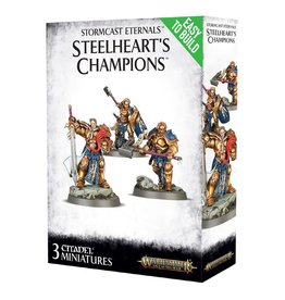 Games Workshop Easy To Build: Stormcast Eternals Steelheart's Champions