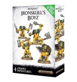 Games Workshop Easy To Build: Ironjawz Ironskull's Boyz