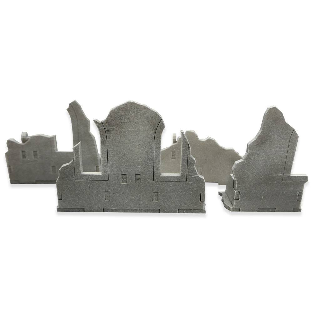 Frontline Gaming ITC Terrain Series: Gothic Ruins Walls