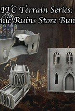 Frontline Gaming ITC Terrain Series: Gothic Ruins Store Bundle