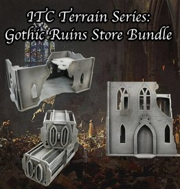 Frontline-Gaming ITC Terrain Series: Gothic Ruins Store Bundle