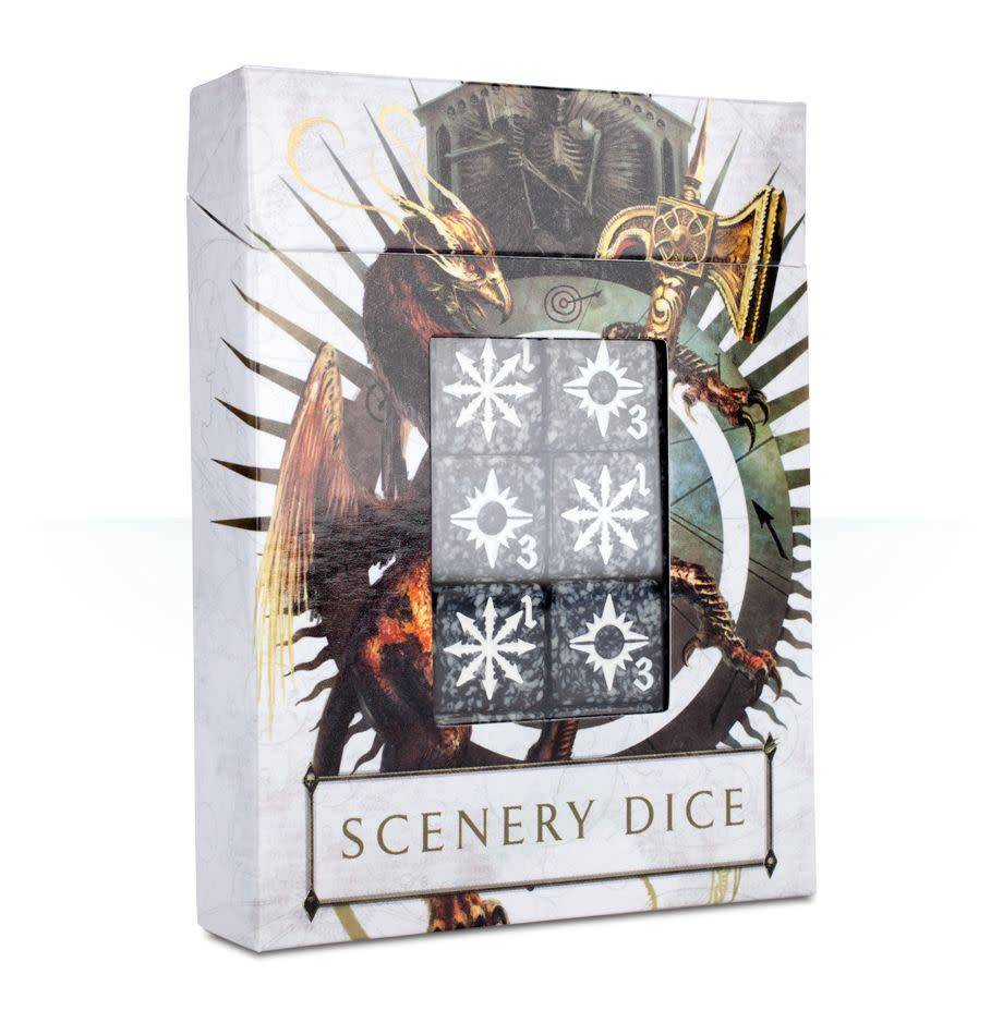 Games Workshop Warhammer Age of Sigmar Scenery Effects Dice