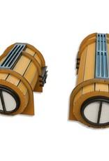 ITC Terrain Series: ITC Standard Interstellar City Set With Mat