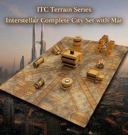 ITC Terrain Series: Interstellar City Complete Set W/ Mat