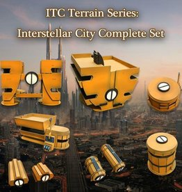 Frontline-Gaming ITC Terrain Series: Interstellar City Complete Set