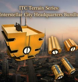 Frontline-Gaming ITC Terrain Series: Interstellar City Headquarters Bundle