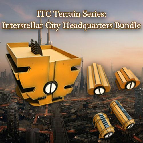 Frontline-Gaming ITC Terrain Series: Interstellar City Headquarters Bundle