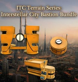Frontline-Gaming ITC Terrain Series: Interstellar City Bastion Bundle