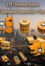 Frontline-Gaming ITC Terrain Series: ITC Standard Interstellar City Set