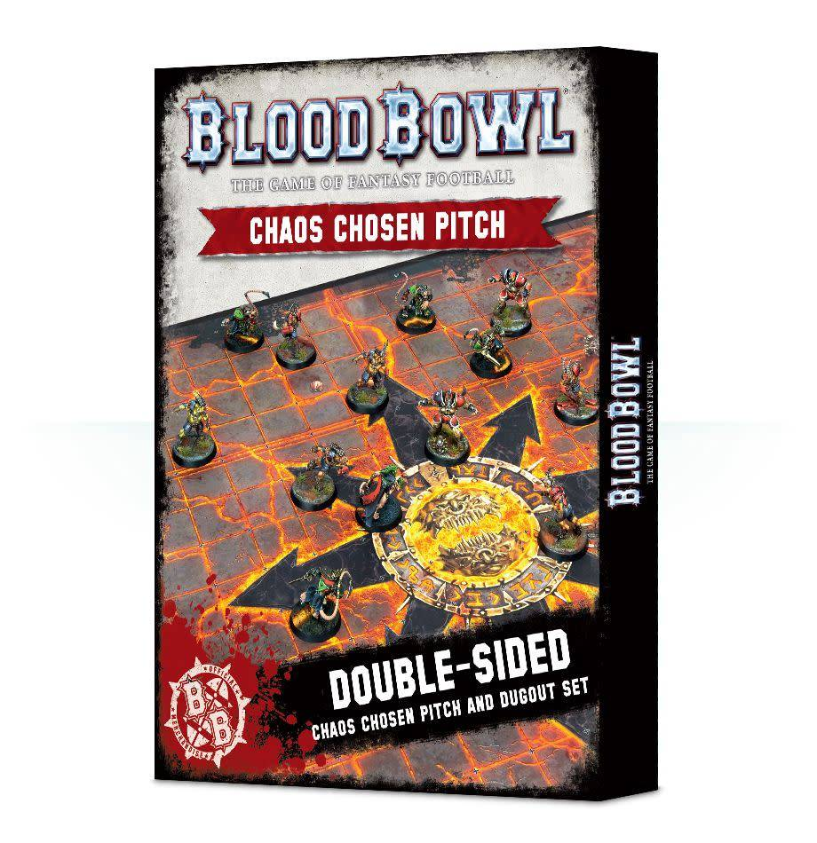 Games Workshop Blood Bowl Chaos Chosen Pitch & Dugout