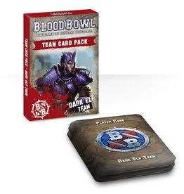 Games Workshop Blood Bowl Team Card Pack – Dark Elf