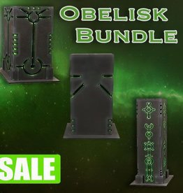 Frontline-Gaming ITC Terrain Series: Robot City Obelisk Bundle