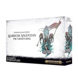 Games Workshop Kurdoss Valentian, The Craven King
