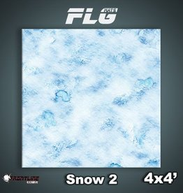 Frontline-Gaming FLG Mats: Snow 2 4x4'