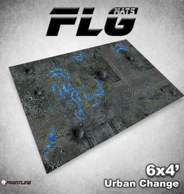 Frontline-Gaming FLG Mats: Urban Change 6x4'
