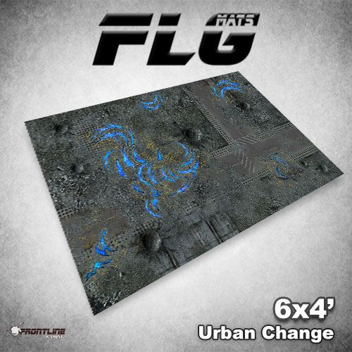 Frontline Gaming FLG Mats: Urban Change 6x4'