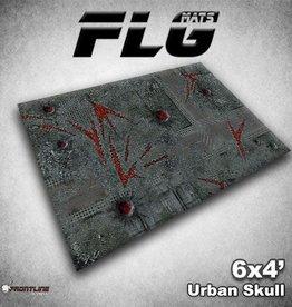 Frontline Gaming FLG Mats: Urban Skull 6x4'